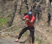 Rappelling Adventure Activity
