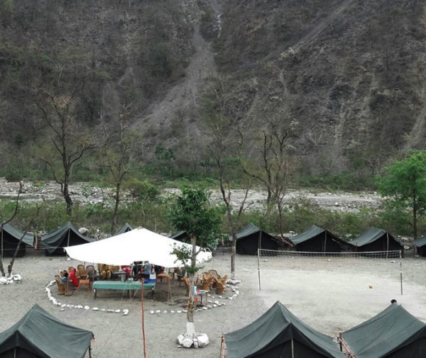 Shivpuri riverside camp