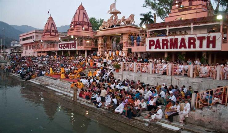 Parmarth Ashram Rishikesh