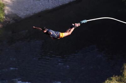 Bungee Jumping Adventure Rishikesh