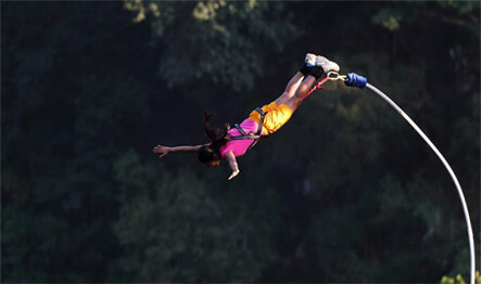 Bungee Jumping In Rishiesk