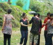 Holi Celebration at Rishikesh